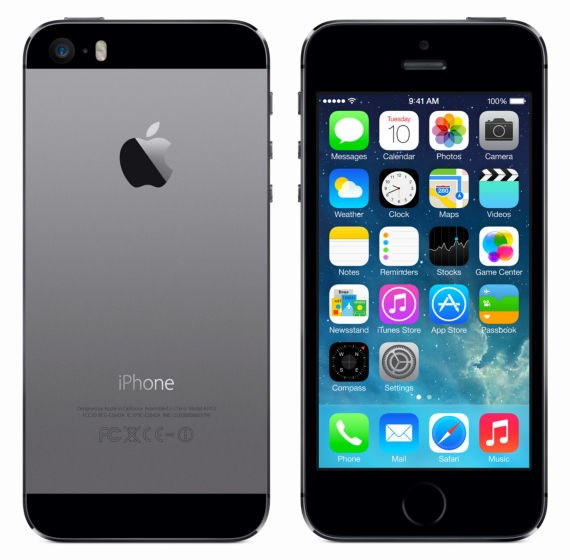 Apple iPhone 5s 32GB Schwarz / Black (ME435DN/A)