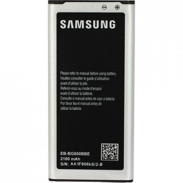 Original Samsung Galaxy S5 Mini Akku Batterie EB-BG800BBECWW