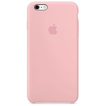 APPLE iPhone 6S Plus Silikonhülle, Pink (MLCY2ZM/A)