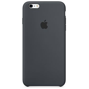 APPLE iPhone 6S Silikonhülle, Anthrazit (MKY02ZM/A)