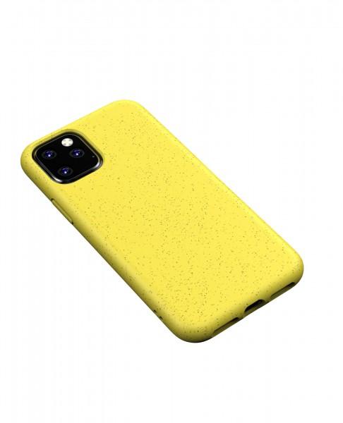 iPhone 11 Hülle Eco Friendly Biobasiert Nachhaltig Kompostierbar Gelb / Yellow