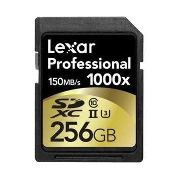 LEXAR Professional 1000x SDXC, UHS-II, 256GB (LSD256C1000)