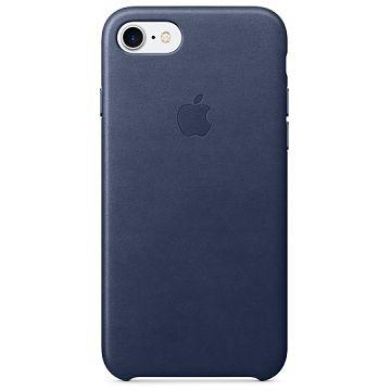 APPLE iPhone 7 Lederhülle, Mitternachtsblau (MMY32ZM/A)