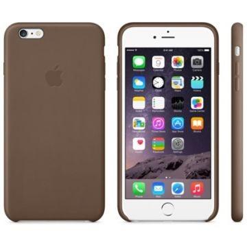 APPLE iPhone 6 Plus Lederhülle, Braun (MGQR2ZM/A)