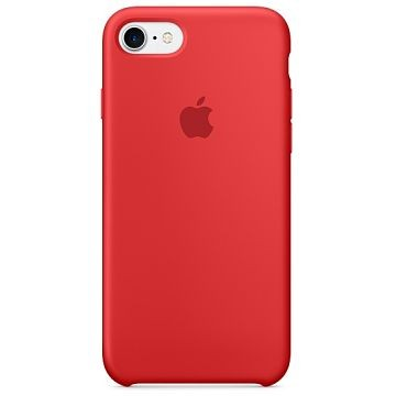 APPLE iPhone 7 Silikonhülle, Rot / RED (MMWN2ZM/A)