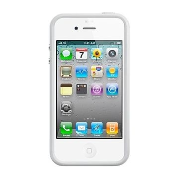 APPLE iPhone 4 Bumper, Weiss (MC668)