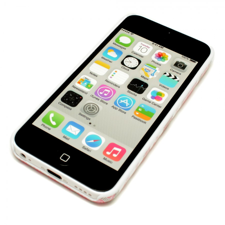 apple iphone 5c 32gb weiss white ielectro. Black Bedroom Furniture Sets. Home Design Ideas