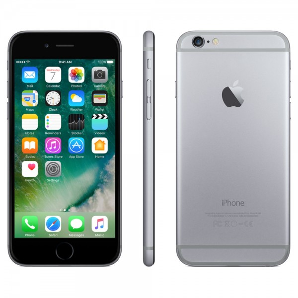 Apple iPhone 6 64GB Spacegrau / Schwarz