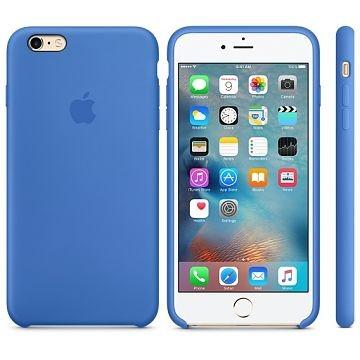 APPLE iPhone 6s Plus Silikonhülle, Königsblau (MM6E2ZM/A)