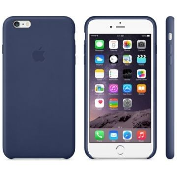 APPLE iPhone 6 Plus Lederhülle, Mitternachtsblau (MGQV2ZM/A)