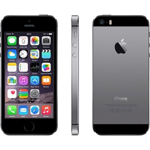 Apple iPhone 5s 64GB Spacegrau / Schwarz