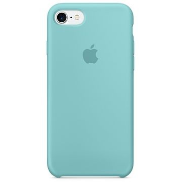 APPLE iPhone 7 Silikonhülle, Meerblau (MMX02ZM/A)