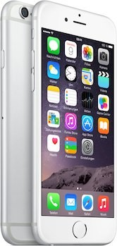 Apple iPhone 6 128GB Weiss / Silver