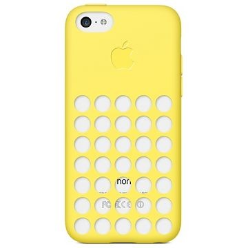 APPLE iPhone 5c Case, Gelb (MF038)
