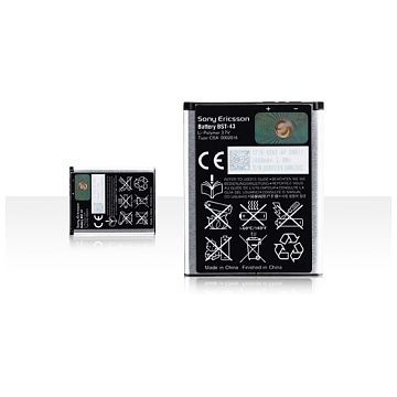 SONY ERICSSON BST-43 1200mAh, Li-Polymer (Sony Ericsson Elm/Yari) Akku