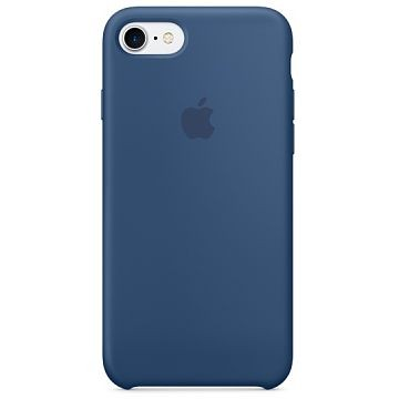 APPLE iPhone 7 Silikonhülle, Ozeanblau (MMWW2ZM/A)