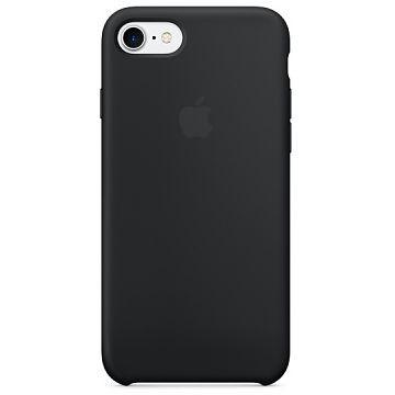 APPLE iPhone 7 Silikonhülle, Schwarz (MMW82ZM/A)