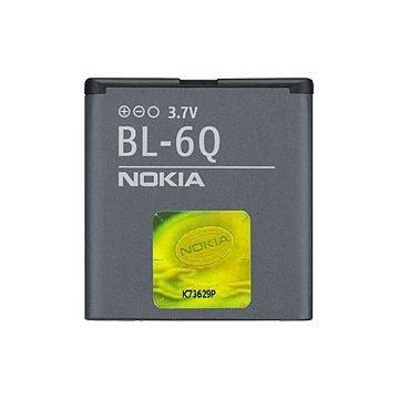 NOKIA BL-6Q 970mAh, Li-Ion Akku, für Nokia 6700 classic