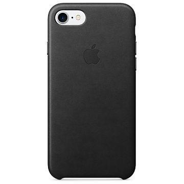 APPLE iPhone 7 Lederhülle, Schwarz (MMY52ZM/A)