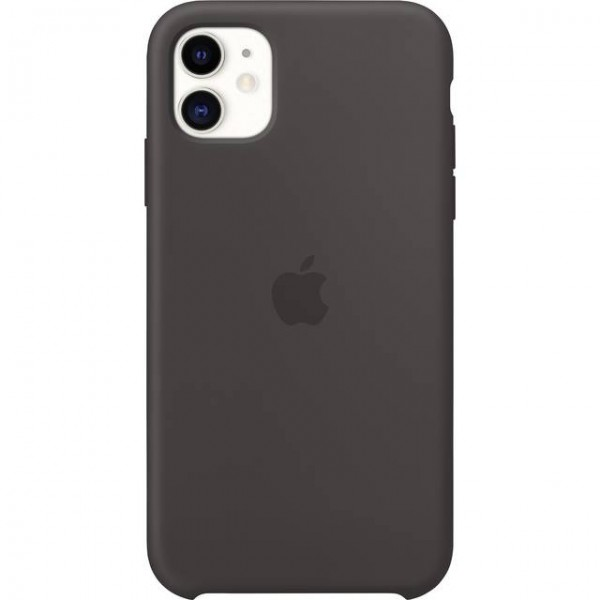 iPhone 11 Silikon Case, Schwarz (MWVU2ZM/A)