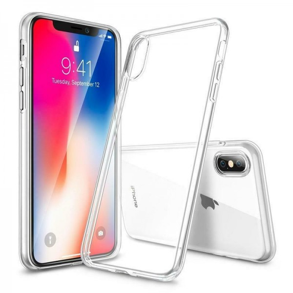 iPhone X / XS Silikonhülle, Case Transparent
