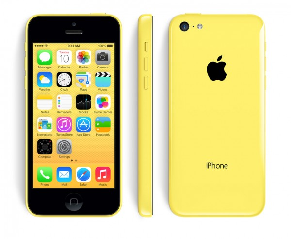Neuwertiges Apple iPhone 5c 8GB Gelb / Yellow