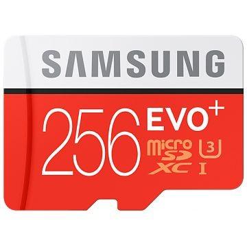 SAMSUNG microSDXC Card Evo+, Class 10, UHS-I, 256GB (MB-MC256DA/EU)