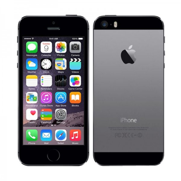 Apple iPhone 5s 16GB Spacegrau / Schwarz