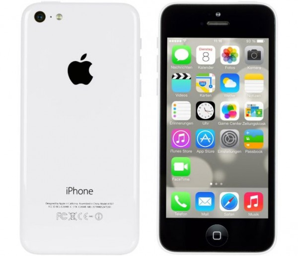 Apple iPhone 5c 16GB Weiss / White