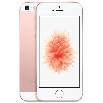 APPLE iPhone SE, 64GB, Roségold (MLXQ2FD/A)