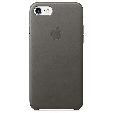 APPLE iPhone 7 Lederhülle, Sturmgrau (MMY12ZM/A)