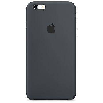 APPLE iPhone 6S / 6 Silikonhülle, Anthrazit (MKY02ZM/A)