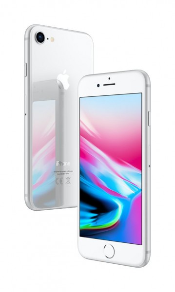 Apple iPhone 8 256GB Silber / Weiss
