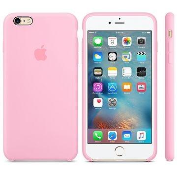 APPLE iPhone 6s Plus Silikonhülle, Hellrosa (MM6D2ZM/A)