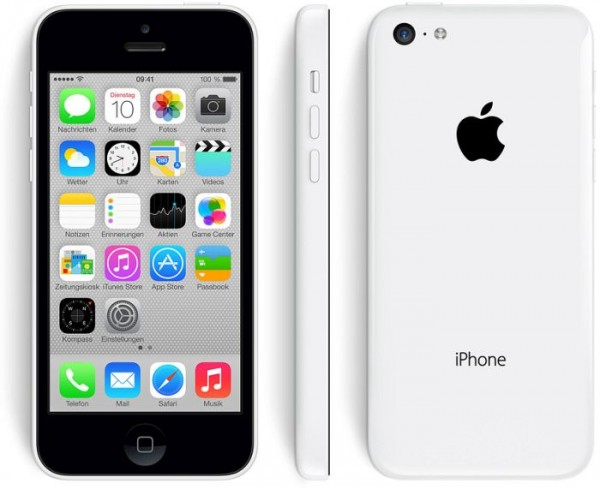 Apple iPhone 5c 32GB Weiss / White