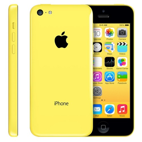 Apple iPhone 5c 8GB Gelb / Yellow