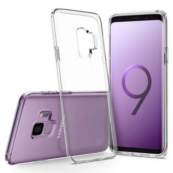 Samsung Galaxy S9 Silikon Case, Hülle Transparent