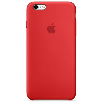 APPLE iPhone 6S / 6 Silikonhülle, Rot (MKY32ZM/A)
