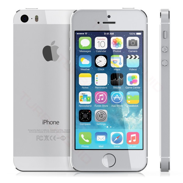 Apple iPhone 5s 32GB Weiss / Silver (ME436DN/A)