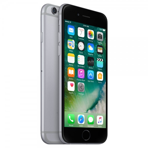 Apple iPhone 6 128GB Spacegrau / Schwarz