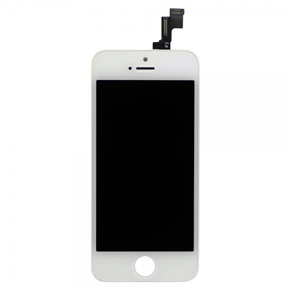 Original Display iPhone 5s Weiss (Digitizer, LCD, Rahmen)