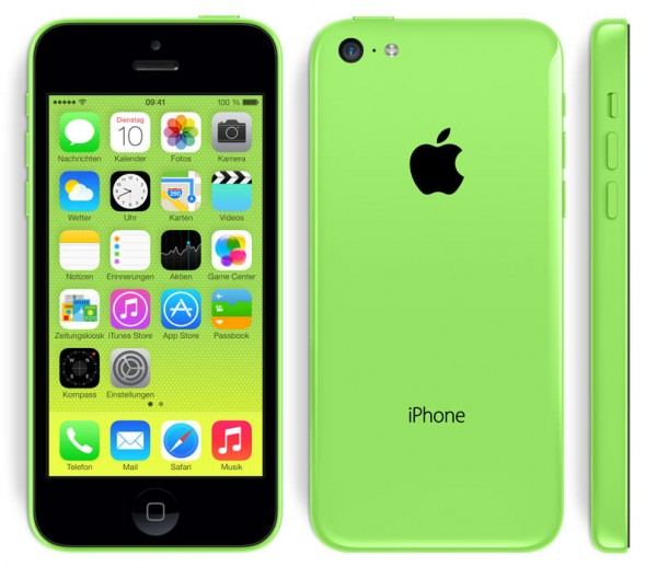 Apple iPhone 5c 16GB Grün / Green
