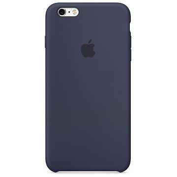 APPLE iPhone 6S Silikonhülle, Mitternachtsblau (MKY22ZM/A)