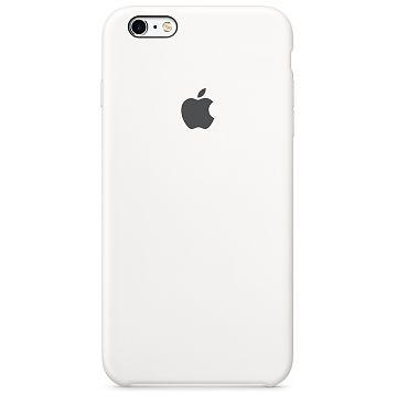 APPLE iPhone 6S / 6 Silikonhülle, Weiss (MKY12ZM/A)