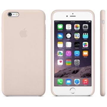 APPLE iPhone 6 Plus Lederhülle, Soft Pink (MGQW2ZM/A)