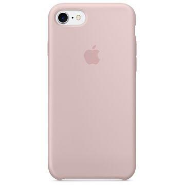 APPLE iPhone 7 Silikonhülle, Sandrosa (MQGQ2ZM/A)