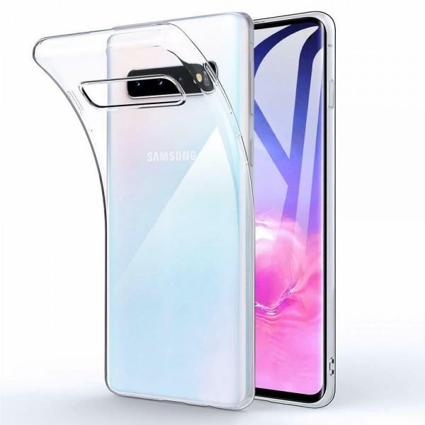 Samsung Galaxy S10 Silikon Case, Hülle Transparent
