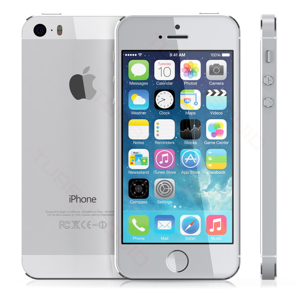 apple iphone 5s 32gb weiss silver me436dn a ielectro. Black Bedroom Furniture Sets. Home Design Ideas