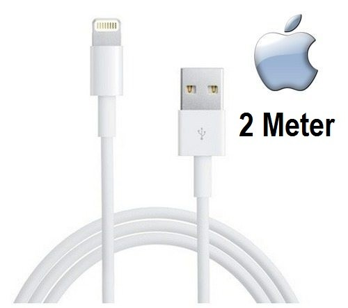 APPLE Lightning auf USB Kabel 2 Meter (MD819ZM/A)