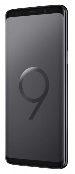 SAMSUNG Galaxy S9 G950U, Single Sim 64GB Midnight Black / Schwarz